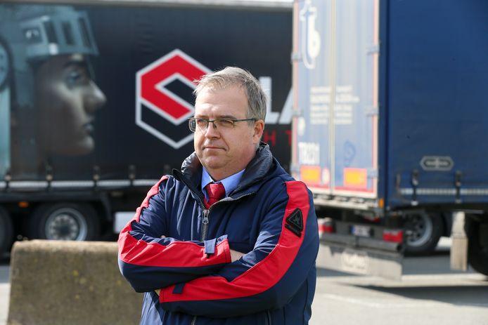"""Koen Vandevelde van Ninatrans: """"Onze chauffeurs verliezen heel veel tijd."""""""