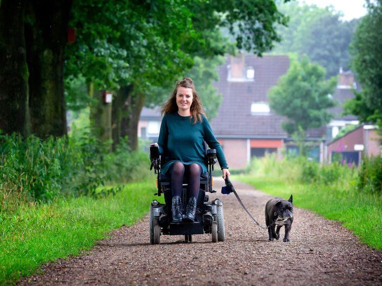 Ilse (32) heeft een beperking, maar wil toch elke dag naar buiten
