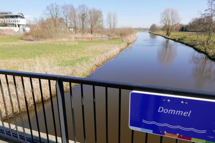De vindplaats gezien vanaf de Bosscheweg.