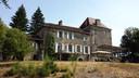 Het chateau in Frankrijk dat de gezinnen huurden.