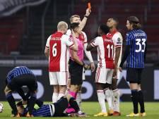 Machteloos Ajax veroordeeld tot Europa League na nederlaag tegen Atalanta