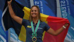 """Emma Plasschaert staat voor belangrijke test richting Tokio: """"Een medaille. Liefst de mooiste"""""""
