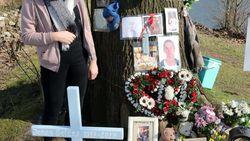 """Nabestaanden riskeren leven bij gedenkplaats: """"Rij aub wat trager als je ons ziet rouwen"""""""