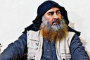 Abu Bakr Al-Baghdadi, de leider van IS die zichzelf vorig jaar opblies toe mAmerikaanse commando's hem hadden opgespoord
