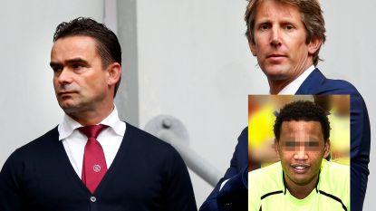 """Ajax-directeurs Van der Sar en Overmars maandenlang  gestalkt en bedreigd door doorgedraaide makelaar: """"Ik kom je vroeg of laat tegen op straat"""""""