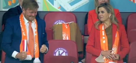 Koning Willem-Alexander vanavond niet juichend op de tribune