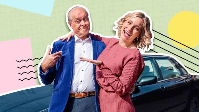 """Julie Vermeire neemt haar papa mee op roadtrip door zijn verleden: """"Ik wist niet dat hij ook in het vijfde middelbaar bleef zitten"""""""