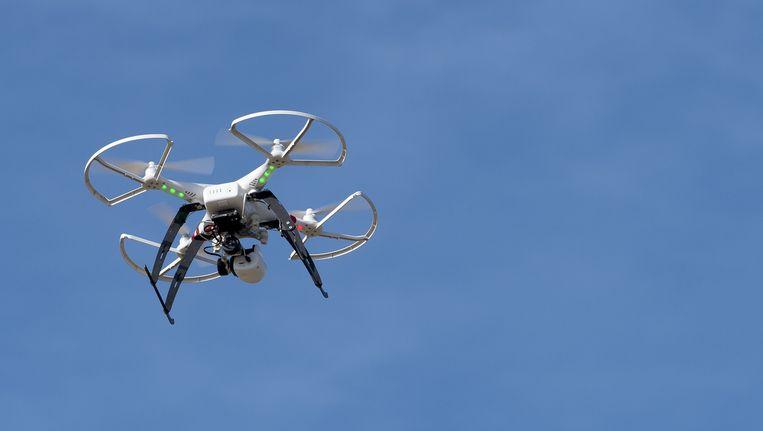 Piloten zien steeds vaker drones bij Schiphol. Beeld anp