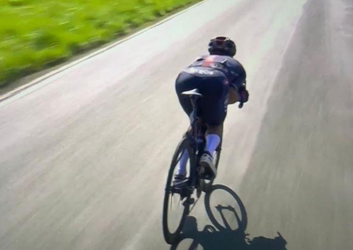 L'Equatorien Richard Carapaz a été disqualifié dimanche après l'arrivée de Liège-Bastogne-Liège.