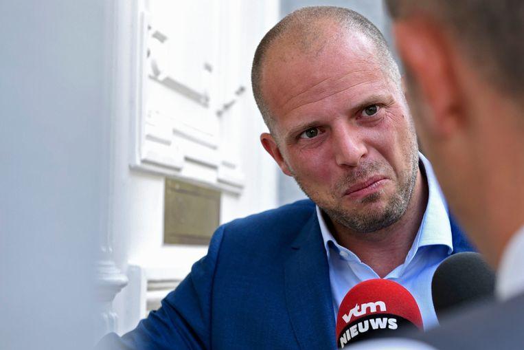 Staatssecretaris voor Asiel en Migratie Theo Francken. Beeld Photo News