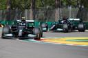 Valtteri Bottas en Lewis Hamilton voerden opnieuw de tijdenlijst aan.
