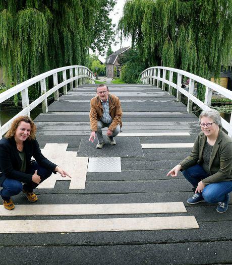 Pinkeveerse brug maakt plaats voor een smaller exemplaar van staal: 'Dat moeten we niet willen'