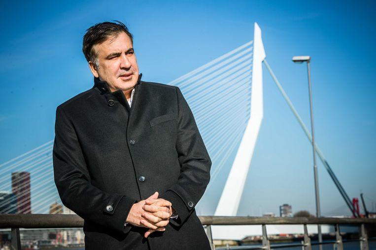 Mikhail Saakasjvili. Beeld ANP