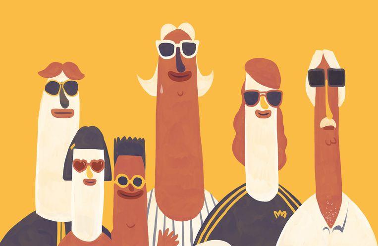Een zonnebril dragen is belangrijk om je ogen te beschermen tegen uv-straling. Dat geldt voor kinderen des te meer.  Beeld Matteo Bal