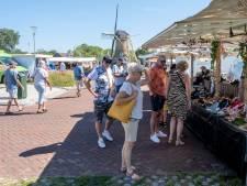 Grote tevredenheid over Domburgse markt bij de molen:  'Dit hier, dit is een mooie plek voor ons'