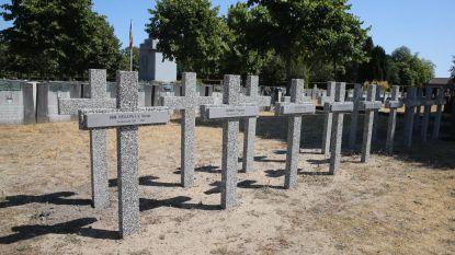 Oorlogsgraven krijgen nieuwe kruisen