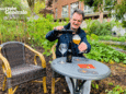 Patrick Van Gompel trekt dit weekend naar het terras van café Chaos.