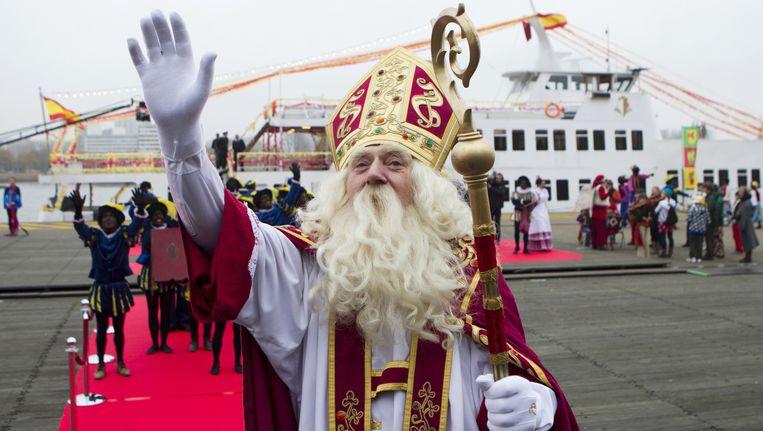 Morgen is het weer zo ver: dan is de Sint officieel in het land. De Morgen wist hem alvast te strikken voor enkele vragen. Beeld BELGA
