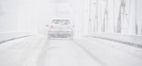 Nieuw sneeuwgebied koerst af op Brabant; maandag grote kans op veel sneeuw en  fileleed
