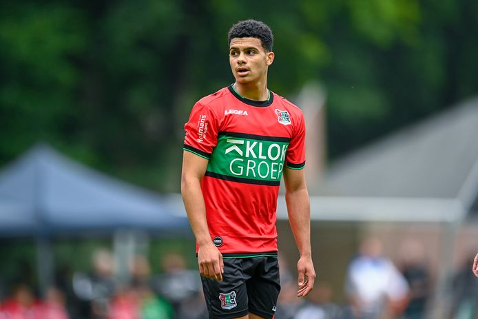 Elayis Tavsan ontbreekt in de laatste oefenwedstrijd van NEC in de voorbereiding op komend seizoen.