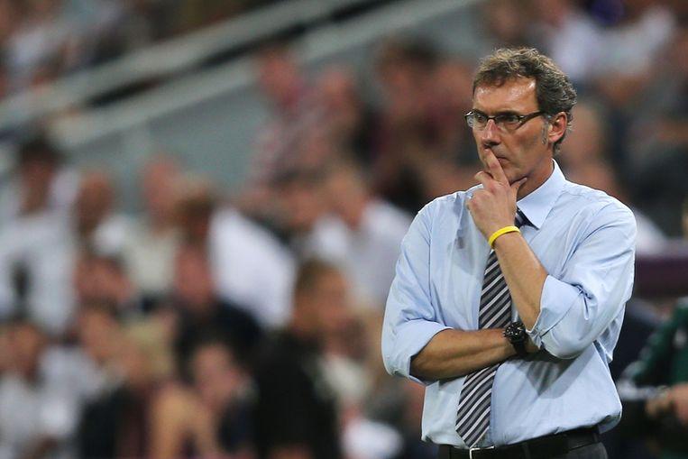 De Franse bondscoach Laurent Blanc. Beeld getty