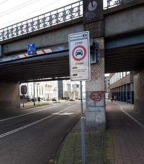 Arnhem heeft sinds 1 januari een milieuzone voor oude diesels: En nu?