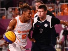 Nederlandse 3x3-basketballers na bloedstollende kwartfinale uitgeschakeld