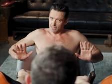 Hugh Jackman complètement nu pour des chaussures