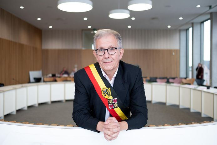Paul Verbeeck, burgemeester van Nijlen.
