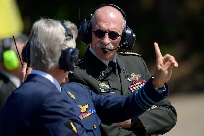 Marc Compernol gaat binnenkort met pensioen. Vorige week brachten hij en koning Filip nog een bezoek aan de militaire basis in Kleine Brogel.
