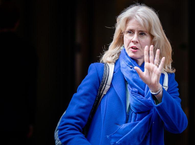 De inmiddels ontslagen demissionair staatssecretaris Mona Keijzer van Economische Zaken en Klimaat. Beeld Hollandse Hoogte /  ANP