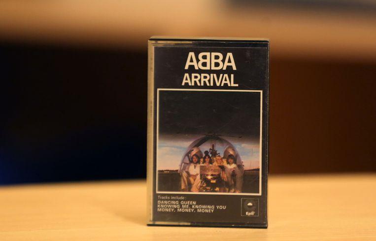 Haar allereerste cassette.