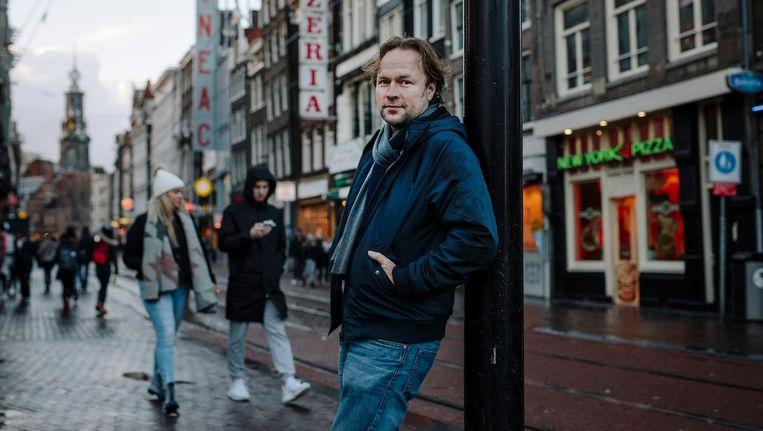 Pim Evers, horeca-ondernemer en voorman van branchevereniging Horeca Nederland Amsterdam Beeld Marc Driessen