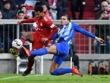Bayern klopt Hertha dankzij goal Martinez en rood Rekik