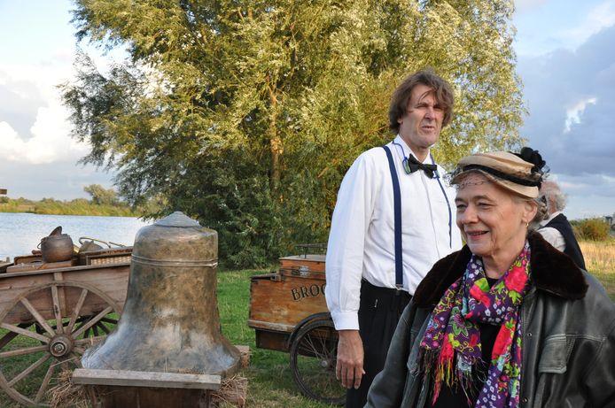 Muzikaal leider Marty van der Staak en regisseur Ans Jager in betere tijden.