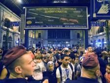 Boedapest sluit station om chaos door vluchtelingen