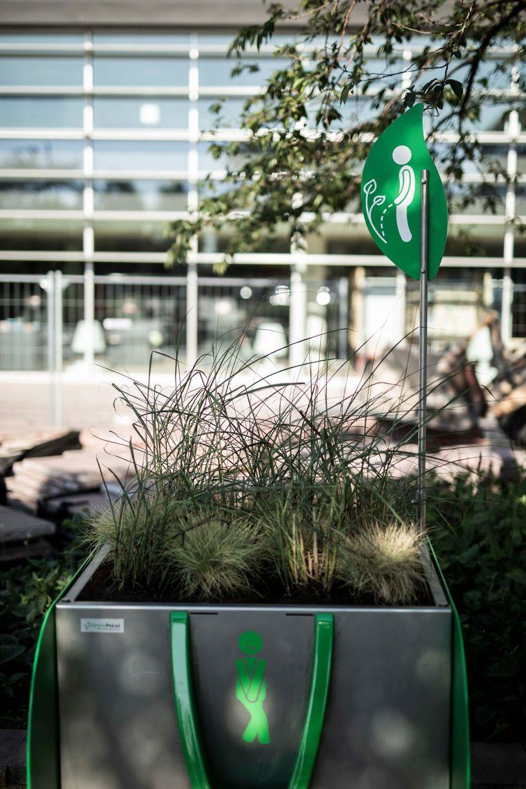 De 'GreenPee' in Genk.