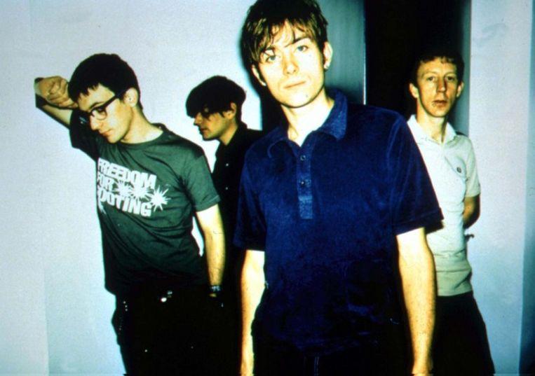 Blur in 1997. Foto EPA Beeld