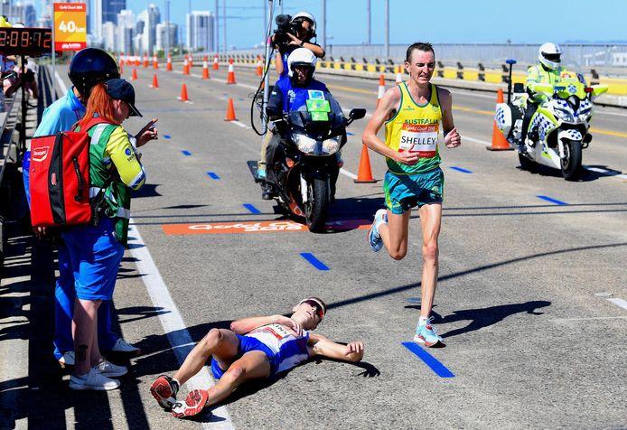 Callum Hawkins avait été victime de la chaleur lors des Jeux du Commonwealth en 2018, il a depuis appris à se préparer à la chaleur et ça lui avait souri à Doha, en 2019, où il avait pris la quatrième place du marathon des championnats du monde.