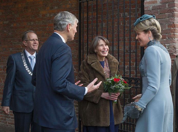 Bezoek Belgisch koningspaar aan kasteel Heeze