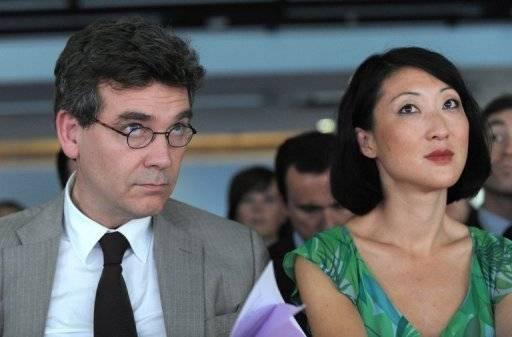 Le ministre du Redressement productif Arnaud Montebourg et la ministre déléguée à l'Economique numérique Fleur Pellerin.