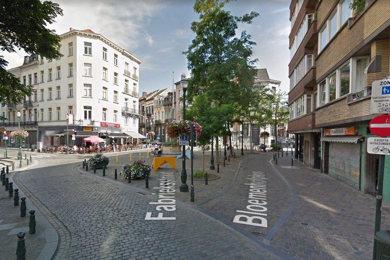 Het Bloemenhofplein, in hartje Brussel, op een boogscheut van de Beurs.