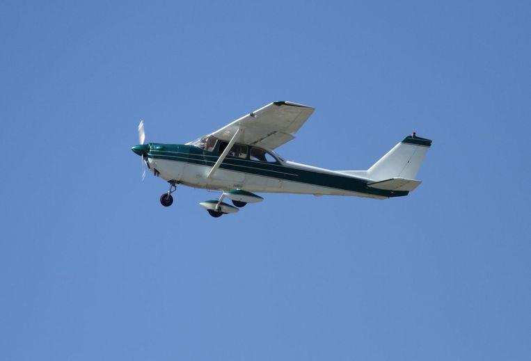 Een foto van een Cessna uit het archief.