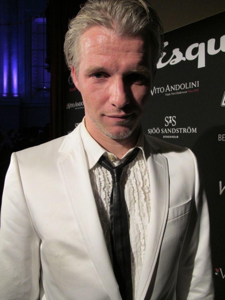 Arno Kantelberg, hoofdredacteur met een attitude, van Esquire.  <br /><br /> Beeld null