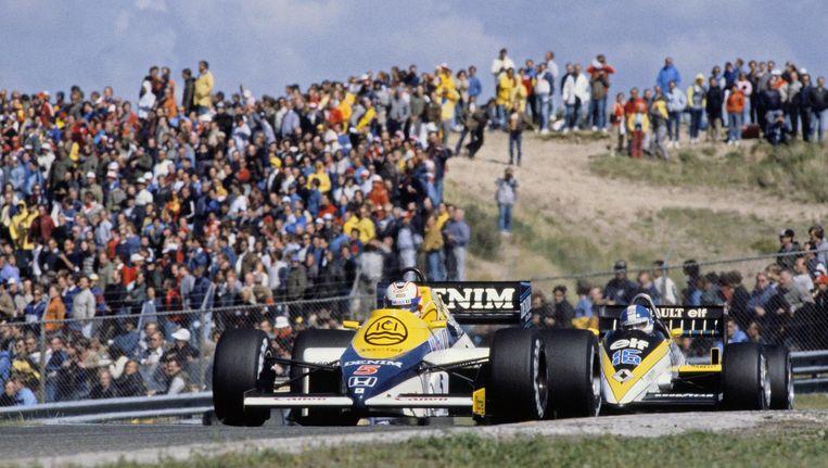 Beeld van de laatste Formule 1 in Zandvoort, in 1985 Beeld anp