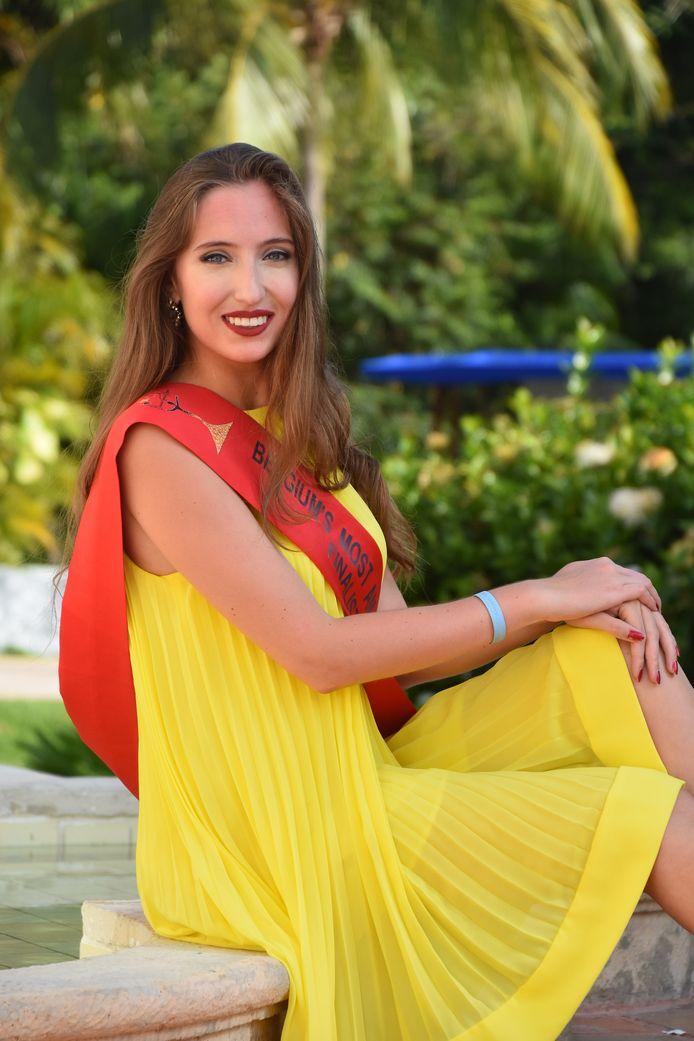 Eleonora is finaliste bij de verkiezing van Belgium's Most Amazing Women.