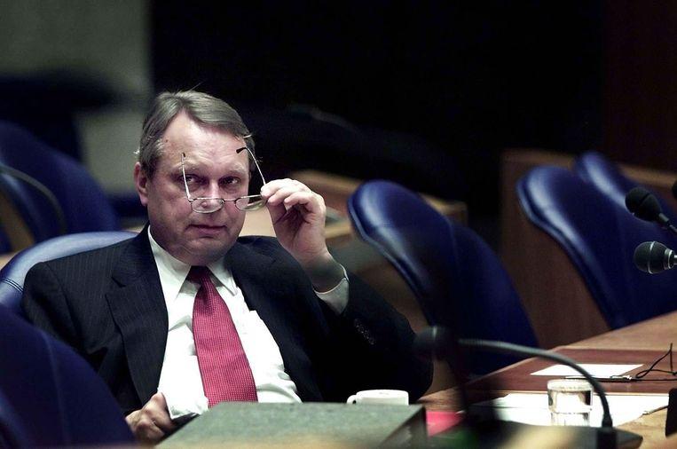 PvdA-er Klaas de Vries in 2002. Beeld ANP