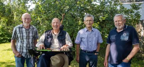 Vier jubilarissen bij Veldhovens Mannenkoor: 'Het mooiste is samen ergens naartoe werken'