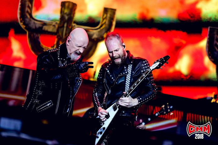 Judas Priest op Graspop Metal Meeting in 2018.