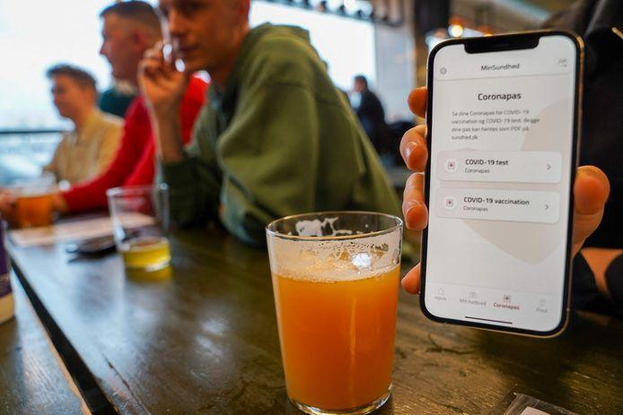 Une application corona pass est déjà disponible au Danemark.